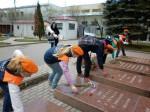 Акция Совета музея на Волковском кладбище (могилы пожарных, погибших в годы Блокады) (2)